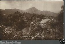 Happy Valley Mussoorie  _ Old Unposted Real Photograph