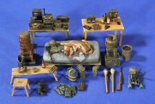 Verlinden 1/35 German Bunker/Shelter Command Post Interior Accessories WWII 2670