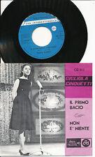 GIGLIOLA CINQUETTI 45 TOURS BELGIQUE IL PRIMO BACIO