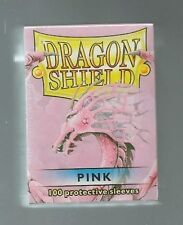 (100) Dragon Shield Pink Protective Sleeves Sealed Magic MTG FREE SHIPPING