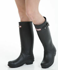 Womens Wellies - Ladies Black Wellington Boots - Size 4 UK - EU 37