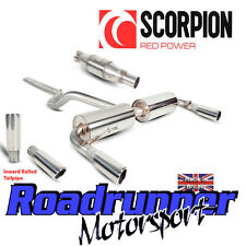 Scorpion Clio 197 Exhaust System Cat Back Non-Res With Sports Cat Inward Rolled