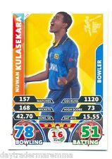 2015 Topps Cricket Attax ICC World Cup #118 Nuwan Kulasekara - Sri Lanka
