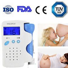 Fetal Doppler Heart Detector Baby Sound Heart Monitor 3Mhz Probe for Pregnancy