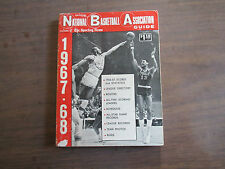 SPORTING NEWS 1967-68 OFFICIAL NBA GUIDE--CHAMBERLAIN COVER