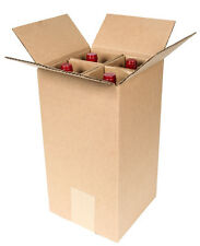 4 Bottle Wine Shipping Box SpiritedShipper.com boxes are UPS & FEDEX Approved