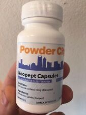Powder City Noopept Capsules 1 month Supply 30 Caps Maltodextrin Gelatin