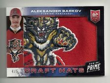 2013-14 Panini Prime ALEKSANDER BARKOV Draft Hats Logo Patch Serial # 4 of 5