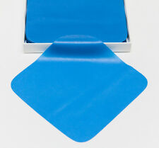 "Dental Endodontic Rubber Dam Natural Latex Medium Gauge 5"" x 5"" Blue - 52/box"