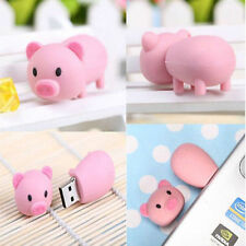 Cartoon pink Pig model USB 2.0 Memory Stick Flash pen Drive 8GB U disk
