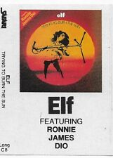 ELF The Elf Albums DIO Cassette Carolina County Ball Trying To Burn The Sun