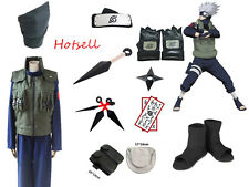 Costume  naruto hatake kakashi deluxe halloween costume clothing cosplay