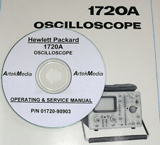 HP 1720A  Oscilloscope Operating & Service Manual