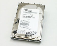 36GB SCSI Fujitsu MAN3367MC  HDD 10K U160 80pin SCA-2 SCSI