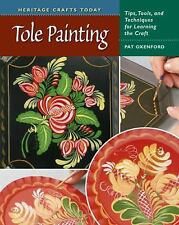 Tole Painting by Pat Oxenford (2008, Hardcover, Spiral)
