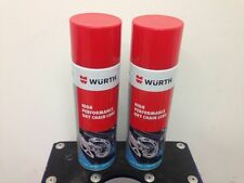 Wurth High Performance dry chain lube. 2 X 500 ml cans
