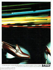 PUBLICITE ADVERTISING 016  1982  Bally  chaussures homme Forum