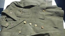 WW2 US Army Tunic Anti Air craft Command Tunic LT. Bars Sterling