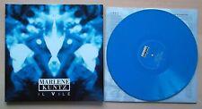 MARLENE KUNTZ Il Vile LP Blu AUTOGRAFATO 114/200 con Dvd Ed. limitata