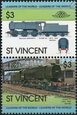 1942 WD/SR Bulleid Austerity Class Q1 0-6-0 Train Stamps / LOCO 100