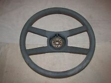 1970-81 CAMARO Z-28 ROPE WRAP 4 SPOKE BLUE STEERING WHEEL