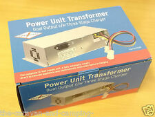 Caravan / Motorhome Power Unit Transformer - Dual Output c/w Three Stage Charger