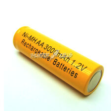 1 AA LR6 3000mAh NiMH Rechargeable Battery Yellow C2