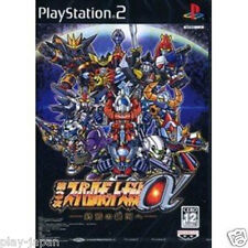 Used PS2 Super Robot Wars Taisen Alpha 3 japan import