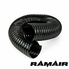 RAMAIR Black Cold Air Feed Flexible Intake Hose For Induction Kits 76mm 750mm
