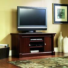 Cherry Wood Tv Stand Entertainment Center Media Console