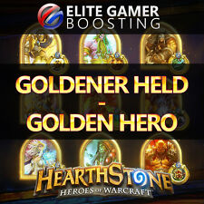 HEARTHSTONE level 60 | eroe dorata/Golden Hero - 500 wins ranked
