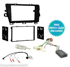 Double Din Car Stereo Fascia Fitting Kit, Steering Wheel for TOYOTA Prius 2010