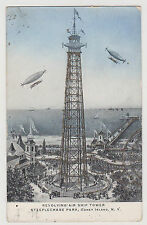CONEY ISLAND REVOLVING AIR SHIP TOWER, STEEPLECHASE PARK, BROOKLYN NYC