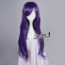love Live Nozomi Tojo 70CM Dark Purple Curly Stylish Lady Anime Cosplay Hair Wig