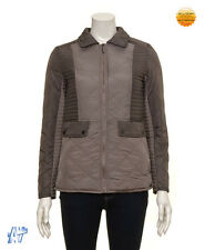 FERAUD Ladies Taupe Quilted Colour Block Jacket BNWT
