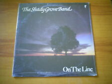 THE SHADY GROVE BAND On the line US LP FLYING FISH 1987 BLUEGRASS
