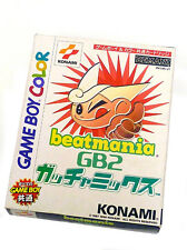 JAP BEATMANIA beat mania GB2 GACHA MIX for NINTENDO GAME BOY COLOUR color BOXED