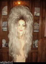 **EMPRESS BIANCA DRAG QUEEN WIG LONG STRAIGHT BLOND WITH ROOTS