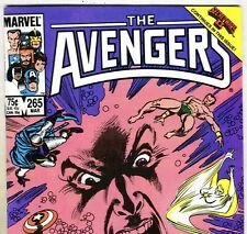 The AVENGERS #265 with Captain America & SubMariner from Mar 1986 in VG+ con. DM