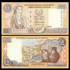 Cyprus 1 Pound, 2004, P-60d, UNC