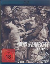 Sons of Anarchy - 6 Staffel  - NEU OVP - 4 Blu Ray Box - FSK 18 - Rental