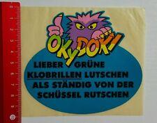 Pegatina/sticker: Oky Doky-querido verdes asientos de inodoros chuparlos... (060716126)