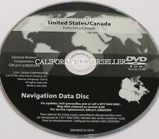 Chevrolet Corvette C6 Navigation Disc MAP DVD GM p/n 22820294 Version 8.0