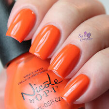NEW! Nicole By OPI nail polish lacquer THE LOOK IS ORANGE
