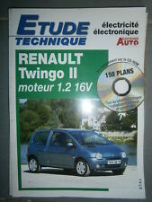 Renault TWINGO 2 1.2 16V : Revue technique Autovolt 811 +CD