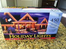 New 450 icicle Light Set Holiday string to bring super bright Christmas system