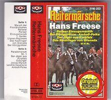 HANS FREESE - REITERMÄRSCHE MC KARUSSELL 1961 AUDIO KASSETTE TAPE CASSETTE