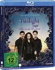 Die Twilight Saga - Biss in alle Ewigkeit/The Com.Col. [Blu-ray] 5 Filme(NEU/OVP