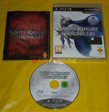 WHITE KNIGHT CHRONICLES 1 Ps3 Versione Italiana 1ª Edizione »»»»» COMPLETO