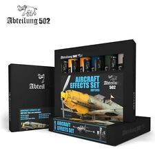 502 Abteilung Modeling Oil Paint Set- ABT-305 Aircraft Weathering (6 Colors)